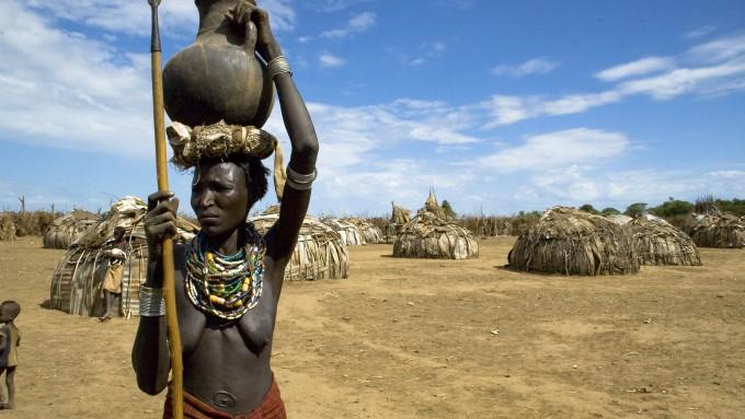 Dassanech de Etiopía
