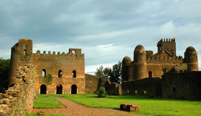castillos de Gondar