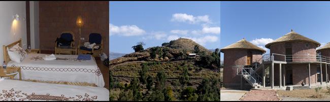 Viaje a Etiopía- Hotel Tukul village