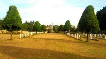 El desconocido cementerio militar de Addis Abeba