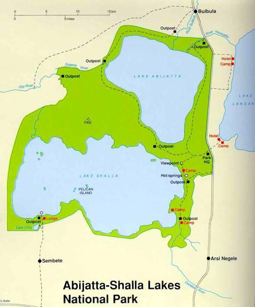 Parque Nacional de Abiyatta-Shalla Etiopía