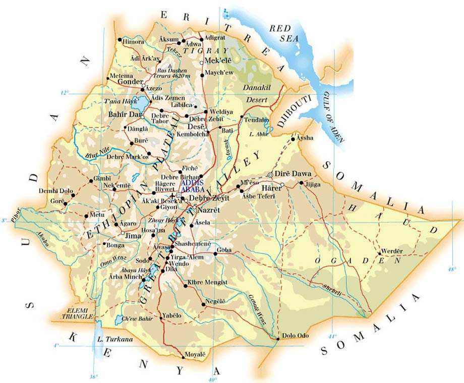 mapa-etiopia