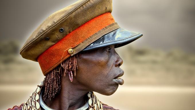 Hamer tribu de Etiopia